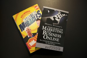 Marketing Miracles and Trade Secrets For Marketing Your Business Online books by Mikkel Pitzner