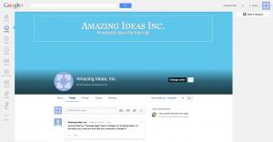 Amazing Ideas GooglePlus